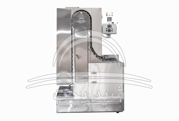 کباب پز اتوماتیک تابشی 400 سیخ مدل یاقوت - کباب 35 سانتی