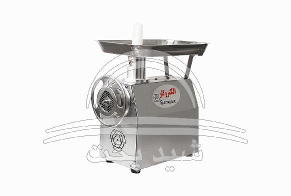 چرخ گوشت صنعتی 32 گیربکس رومیزی الکتروکار مدل EC 10