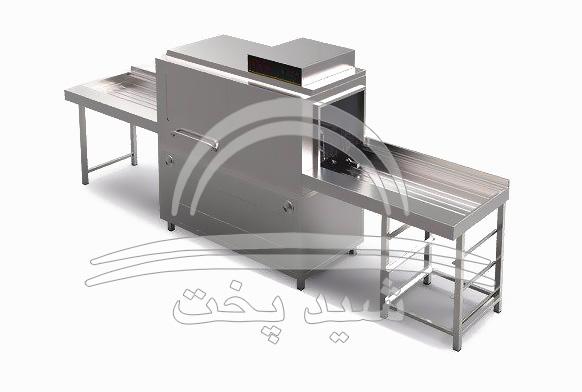 ماشین ظرف شویی صنعتی  - 2000 تکه (بشقاب)
