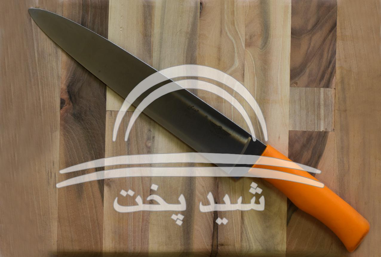 چاقو آشپزخانه برگ زنی مارک حیدری