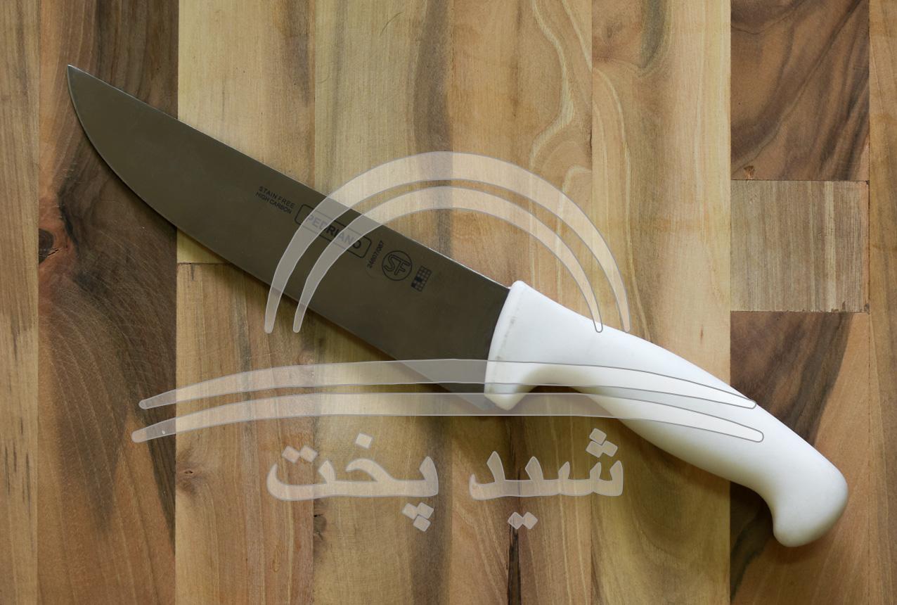 چاقو آشپزخانه قصابی pedriano (sf) با سر منحنی